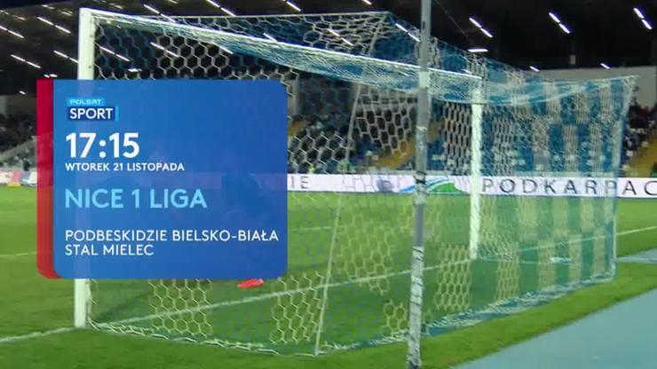 Nice 1 Liga: Podbeskidzie Bielsko-Biała - Stal Mielec. Transmisja w Polsacie Sport