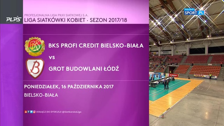 BKS PROFI CREDIT Bielsko-Biała - Grot Budowlani Łódź 1:3. Skrót meczu