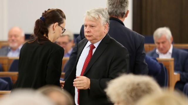 Karczewski: Borusewicz póki co nie będzie prowadził obrad Senatu