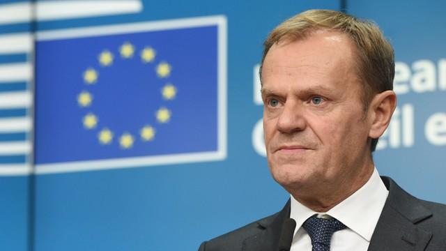 Tusk: Takie słowa, w takim miejscu nigdy nie powinny paść z ust polskiego premiera
