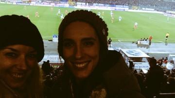 2015-11-28 Petkovic smażyła kiełbaski na meczu Bundesligi