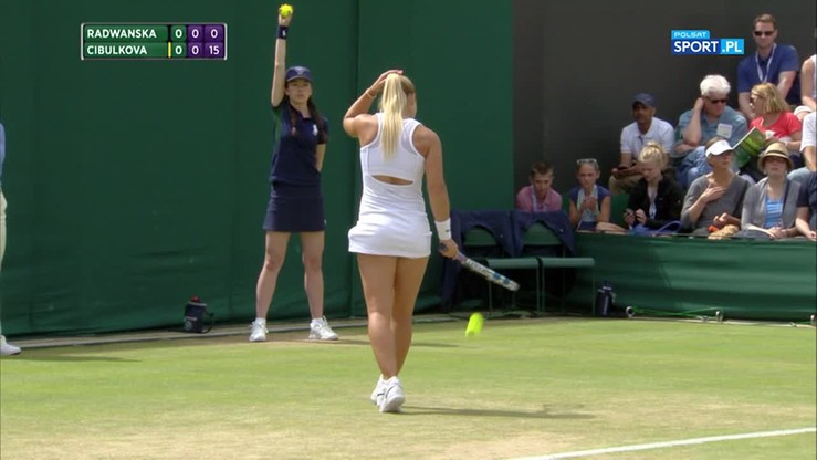 Dominika Cibulkova - Agnieszka Radwańska. Skrót meczu