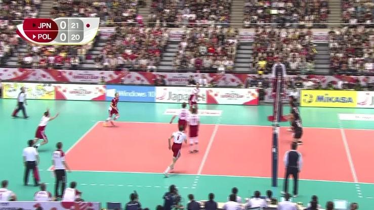 Polska - Japonia 3:1. Skrót meczu