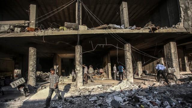 Syria: 16 zabitych w atakach w pobliżu dwóch szkół w prowincji Idlib