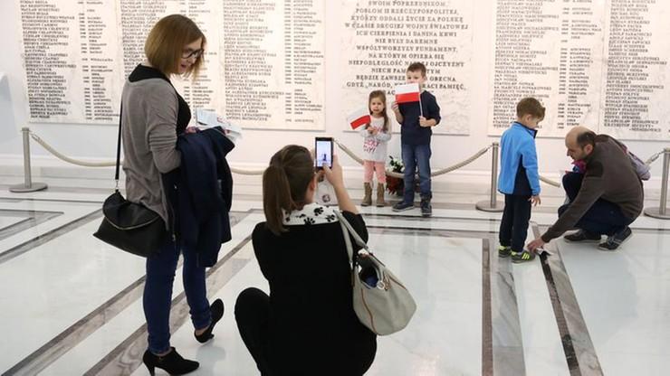 Sejm otwarty na zwiedzanie w Dniu Niepodległości