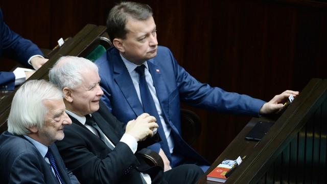 Kierownictwo PiS rozmawiało o sytuacji w Sejmie