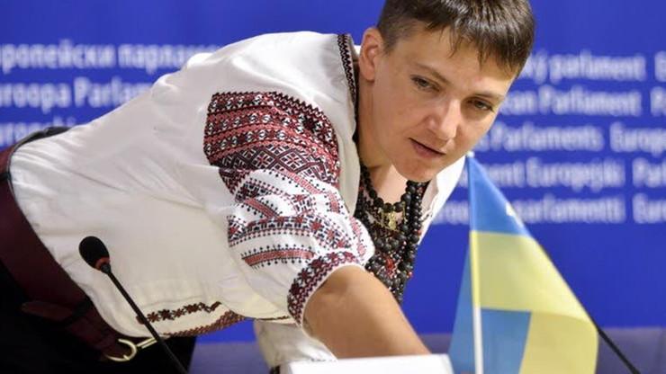 Sawczenko w PE apelowała o utrzymanie sankcji wobec Rosji