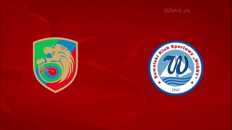 2015-10-05 Miedź Legnica - Wigry Suwałki 0:0. Skrót meczu