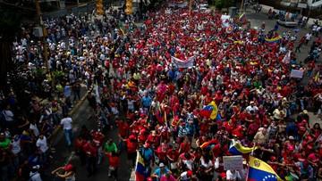 20-04-2017 06:58 Wielotysięczne demonstracje przeciwko rządom prezydenta Wenezueli