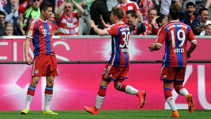 Lewandowski piąty raz w jedenastce kolejki Kickera