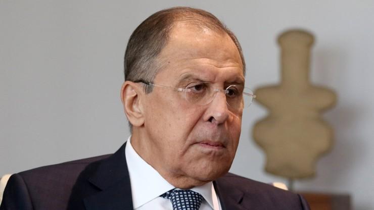 """Ławrow zarzucił UE, że próbuje narzucać """"nastroje rusofobiczne"""""""