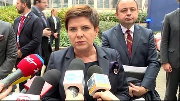 Szydło: oczekuję równego udziału krajów UE w debacie o reformach