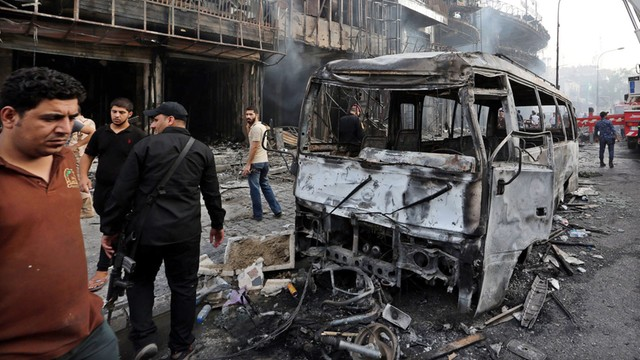 Irak: już 119 zabitych w zamachach w Bagdadzie