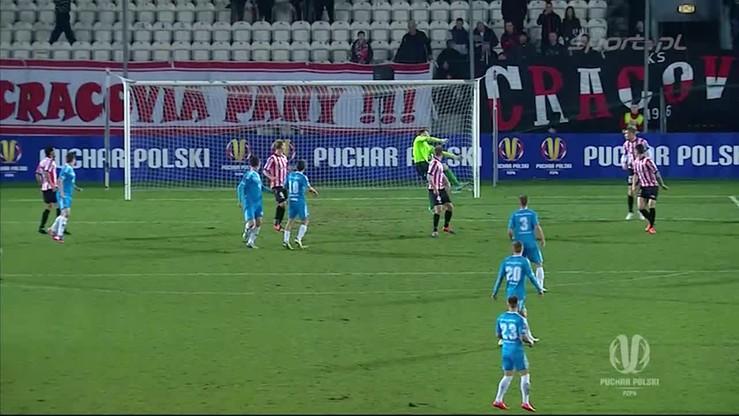 Cracovia - Błękitni 0:2. Skrót meczu