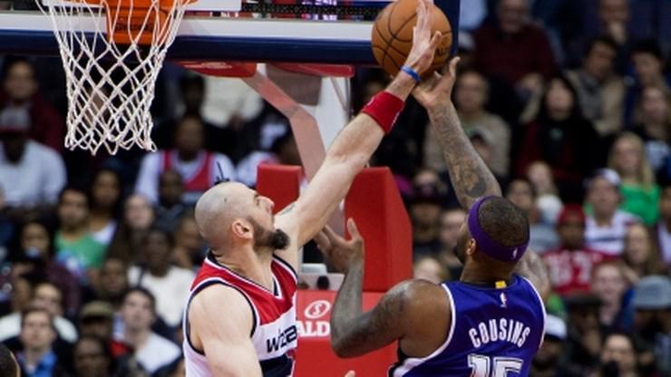 Gortat zdobył 25 punktów. Czwarte z rzędu zwycięstwo Wizards