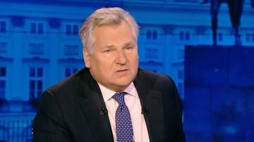 Kwaśniewski o prezydencie: Polska potrzebuje osoby, która będzie ponadpartyjna