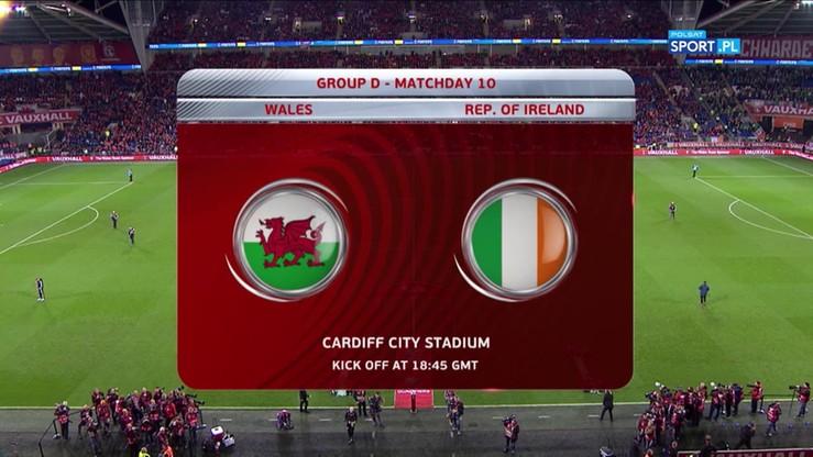 Walia - Irlandia 0:1. Skrót meczu