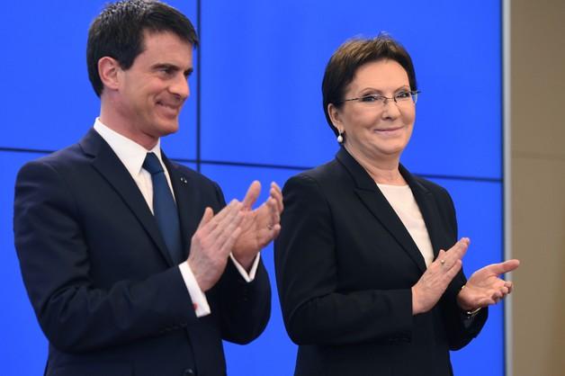 Kopacz i Valls o Ukrainie
