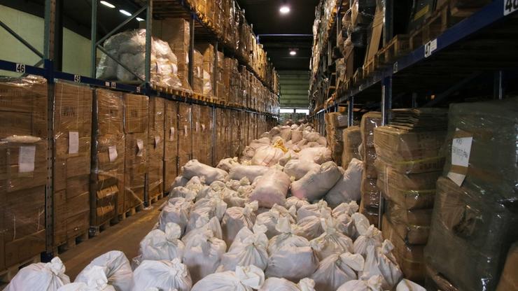 W Wólce Kosowskiej zabezpieczono towar za ponad 60 mln zł
