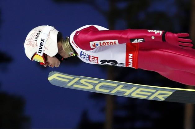 MŚ: Kamil Stoch najlepszy na trzecim treningu