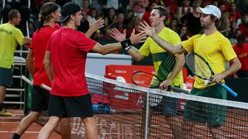 2017-09-16 Puchar Davisa: Francja i Australia bliżej finału