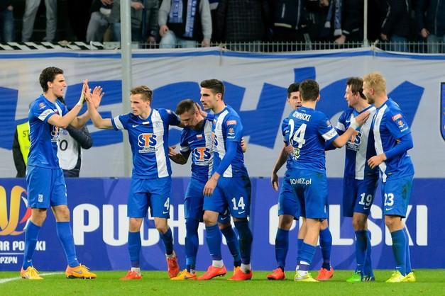 Koniec przygody Błękitnych - zostali bohaterami Pucharu Polski