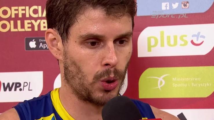 Bruno Rezende: Pokazaliśmy charakter w meczu z Rosją