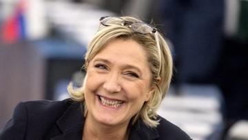 19-01-2017 10:55 Marine Le Pen triumfuje w sondażu prezydenckim na trzy miesiące przed wyborami