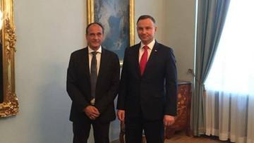 """17-07-2017 17:32 """"O kształcie sądów nie może decydować jedna partia"""". Kukiz rozmawiał z prezydentem"""