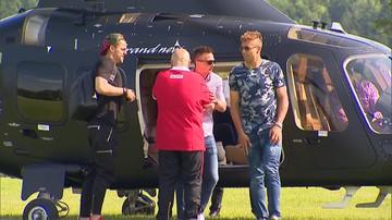 23-05-2016 17:38 Część kadrowiczów przyleciała na zgrupowanie helikopterem
