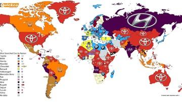 Ludzie najczęściej szukają aut w Google. Toyota na szczycie. W Polsce rządzi BMW
