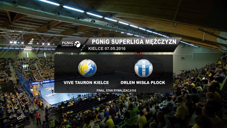 Vive Tauron Kielce - Orlen Wisła Płock 35:29. Skrót meczu