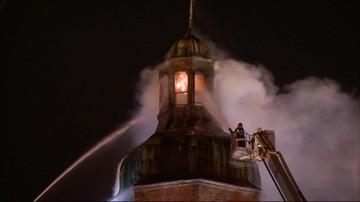Ruszyło śledztwo ws. pożaru katedry w Gorzowie Wielkopolskim