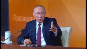 Putin: na pokładzie Tu-154M nie było wybuchów