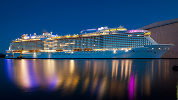 12-05-2016 14:30 Największy statek pasażerski świata wyruszy w rejs w niedzielę