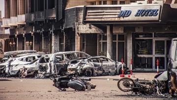 16-01-2016 14:15 Rośnie liczba ofiar zamachu na hotel w Burkina Faso