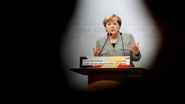 12-08-2017 16:08 Merkel rozpoczęła kampanię przed wyborami do Bundestagu