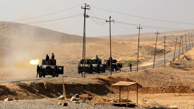 Trwa ofensywa przeciwko ISIS. Iracka armia szturmuje lotnisko w Mosulu
