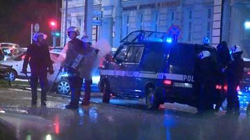 Anarchiści twierdzą, że to policja zaatakowała ich w Poznaniu