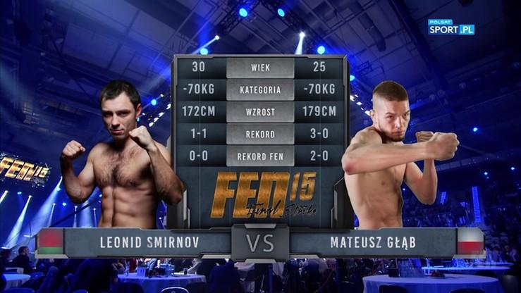 Leonid Smirnov - Mateusz Głąb. Skrót walki