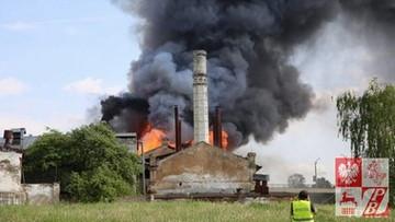 22-05-2017 22:06 Spłonął dawny pałac Sapiehów w Grodnie