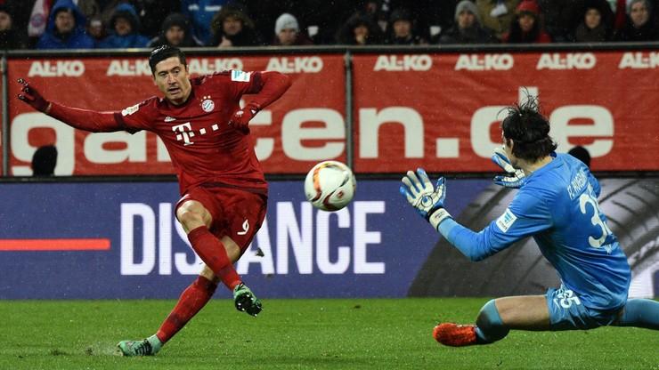 Bundesliga: 22. gol Lewandowskiego w tym sezonie