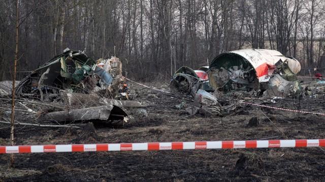 Brytyjskie laboratorium zbada, czy w Tu-154M były materiały wybuchowe