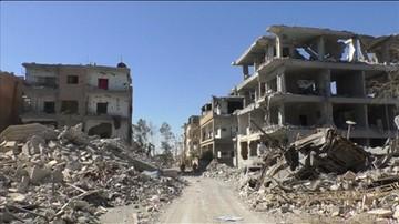 Wojna w Syrii. Ar-Rakka wyzwolona z rąk dżihadystów