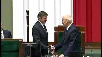 Kuchciński nowym marszałkiem Sejmu