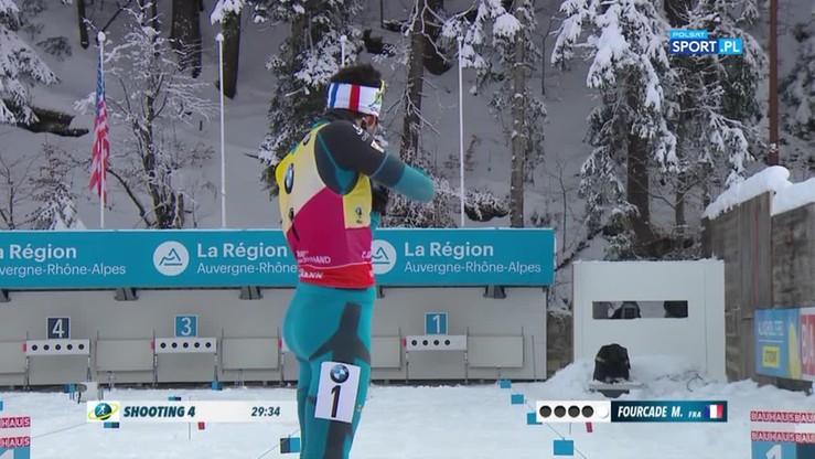 PŚ w biathlonie: Wielkie zwycięstwo Fourcade'a!