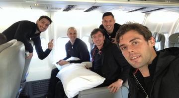 2016-12-21 Superpuchar Włoch: Milan przybył do Kataru z opóźnieniem