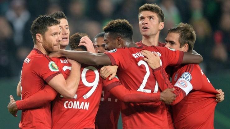 Puchar Niemiec: Lewandowski tym razem nie strzelił Wolfsburgowi, gol Sobiecha