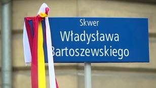 Władysław Bartoszewski patronem skweru na warszawskiej Woli