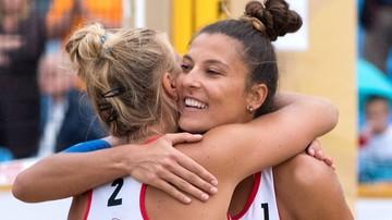 2017-08-17 ME w siatkówce plażowej: Kołosińska i Gruszczyńska zagrają w barażu o 16